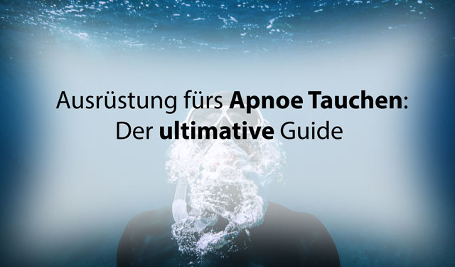 Apnoe-tauchen-ausruestung