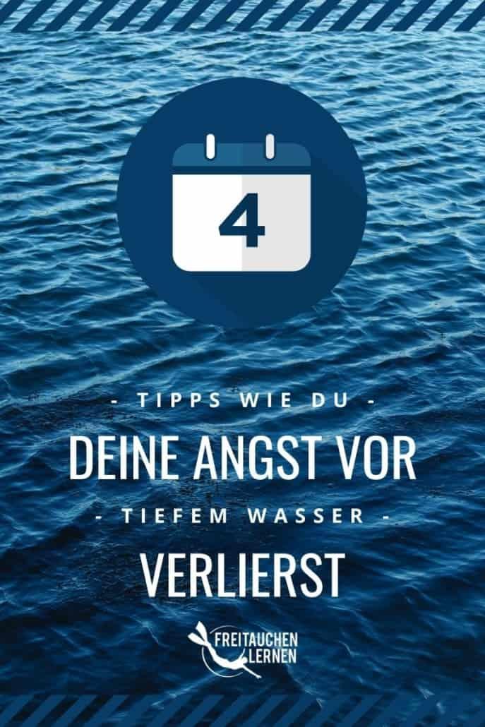 Angst vor tiefem Wasser