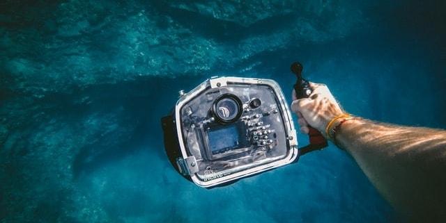 Kamera zum Filmen