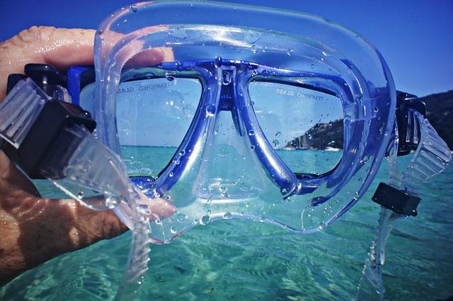 Taucherbrille undicht